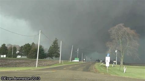 large tornado   close  benson il hd youtube