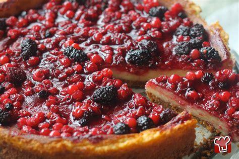 ricetta cheesecake ai frutti  bosco dolci