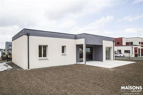 awesome avis maison toit plat basse with maison moderne