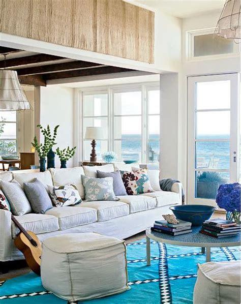 salones de estilo costero decoracion