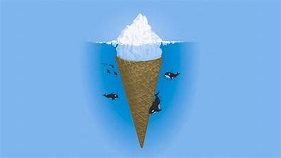 Simple Humor Wallpapers Iceberg Ice Background Wall
