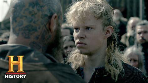 vikings season  character catch  sigurd david