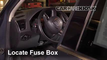Audi Q5 Fuse Box Diagram by Interior Fuse Box Location 2009 2017 Audi Q5 2011 Audi