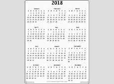 September 2018 Calendar Cute monthly calendar 2017