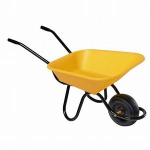 Roue Brouette Haemmerlin : brouette enfant jaune 1 roue mini haemmerlin bricozor ~ Mglfilm.com Idées de Décoration