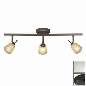 Galaxy fixed track light standard oil rubbed bronze glass pendant linear lighting