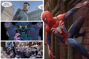 Spider-Man PS4: 10 Characters Who Could Be The Perfect Villain