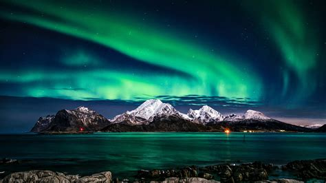 aurora borealis  wallpapers hd wallpapers id