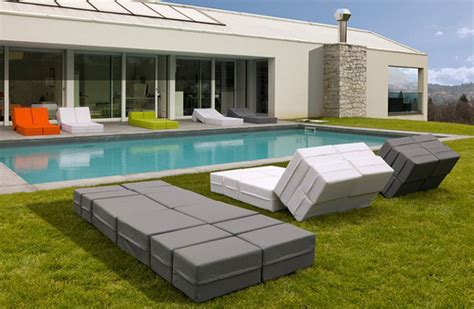 ultra modern patio furniture paint adaptable outdoor furniture kuboletto by bedding
