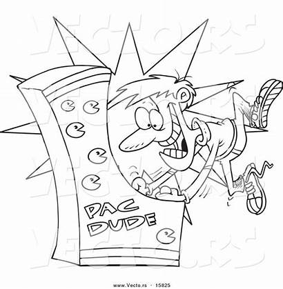 Coloring Drawing Pages Games Xbox Arcade Cartoon