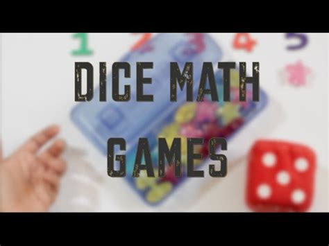 dice preschool math activities 718 | hqdefault