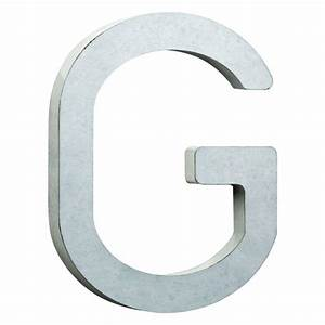 liberty 8 in vintage style galvanized steel letter g hdcb With galvanized letter g