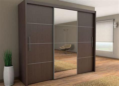 Brand New Modern Bedroom Wardrobe Sliding Door With Mirror