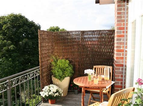 sichtschutz balkon balkonerlebnis bauen de