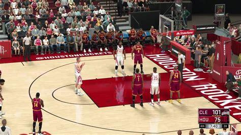 NBA 2K17 Cleveland Cavaliers vs Houston Rockets Full Game ...