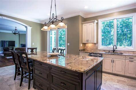 kitchen island  beautiful granite countertop oz