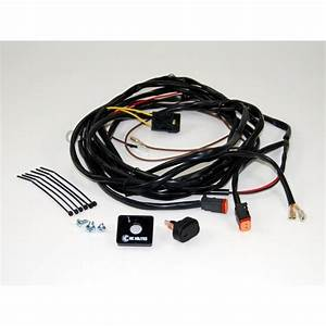 Wiring Harness For Two Lights W   2