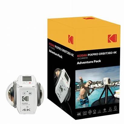 4k Kodak Adventure Camera Pack Pixpro Vr