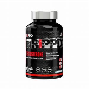 Rippd Testrippd Testosterone Booster 60 Capsules   Pills   Getrippd Com
