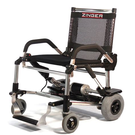 zinger lightweight folding electric wheelchair delivered