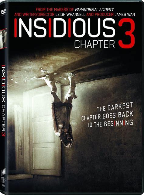 DVD & Blu-Ray: INSIDIOUS - CHAPTER 3 (2015) | Insidious ...