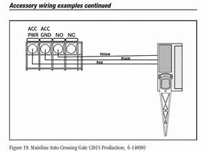 Wiring Help With Multiple 153irs To Crossing Gates