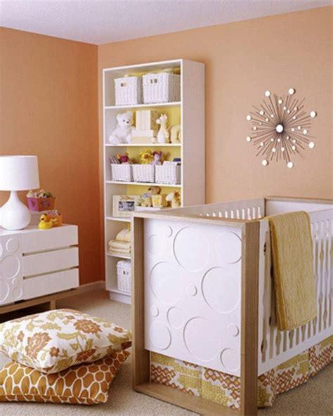 chambre bébé orange 20 idées originales pour la décoration chambre bébé