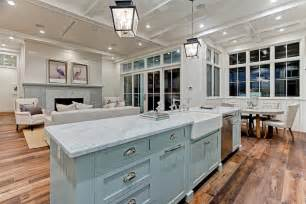 big kitchen islands modern farmhouse in california by david watson architect