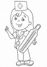 Thermometer Coloring Pages Print sketch template
