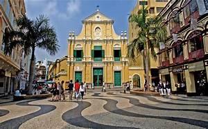 Landmarks in Macau, China - PRE-TEND Be curious