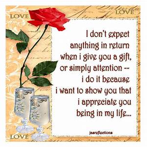 I APPRECIATE YOU… | JasReflections