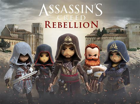 assassins creed rebellion brings ac series  mobile