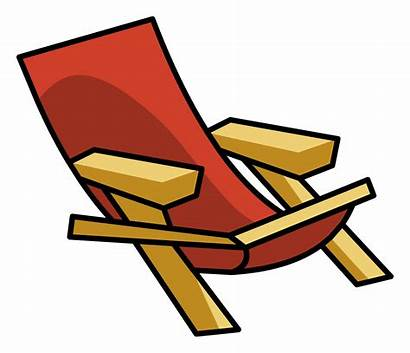 Chair Clipart Penguin Cliparts Clip Lawnchair Wiki
