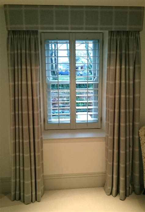 window shutters and curtains for total blackout