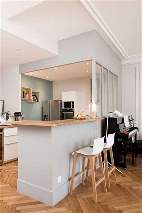 creer un bar dans une cuisine 50 verrières déco pour la cuisine la chambre ou la salle