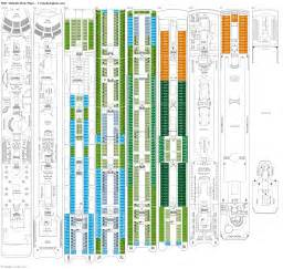 msc sinfonia deck plans diagrams pictures