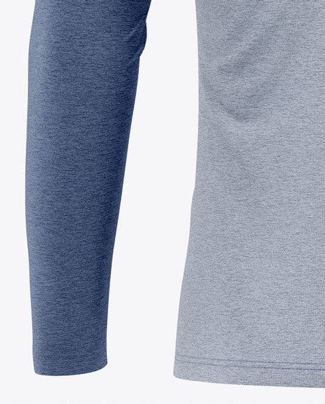Your resource to discover and connect with designers worldwide. Men's Heather Raglan Long Sleeve T-Shirt Mockup - Back ...