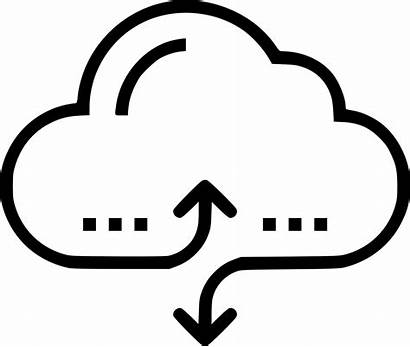 Cloud Icon Access Svg Onlinewebfonts Services Solutions