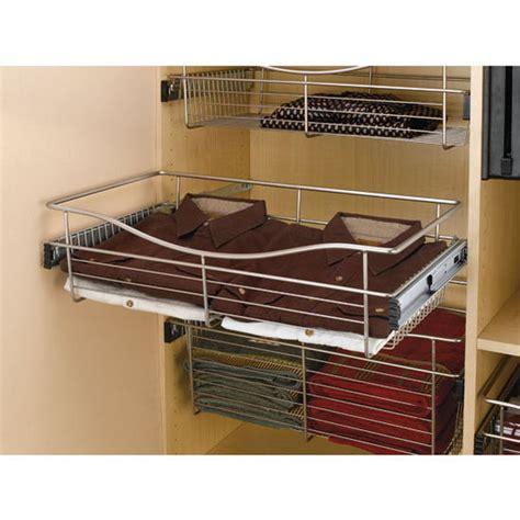 wire storage baskets for kitchen cabinets 16 inch deep closet or kitchen cabinet heavy gauge wire