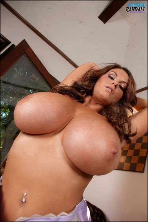 Sarah Nicola Randall Beautiful Big Boobs