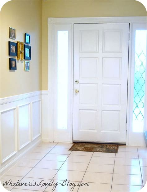 Faux Wainscoting by Hometalk Diy Faux Wainscoting