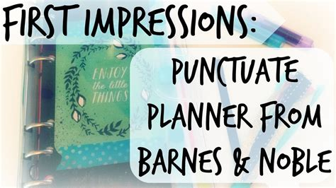 barnes and noble planners impressions punctuate planner barnes noble