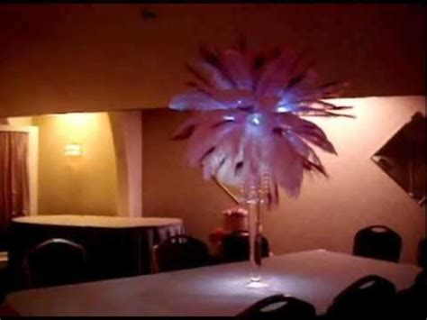 buy sweet 16 centerpiece peacock pink peacock themed centerpieces by sweet 16 candelabras
