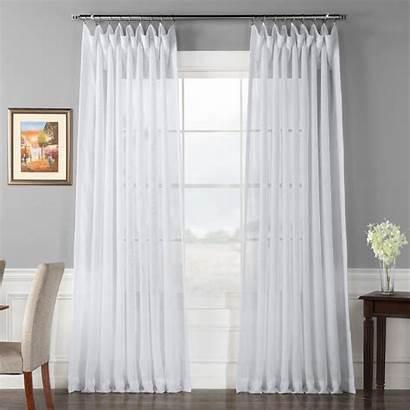Sheer 120 Curtain Double Wide Fabrics Furnishings