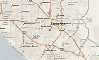 35 Santa Ana California Map - Maps Database Source