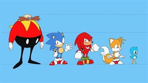 sonic mania shares concept art   animated episodes