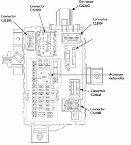 2009 Ford Edge Fuse Diagrams