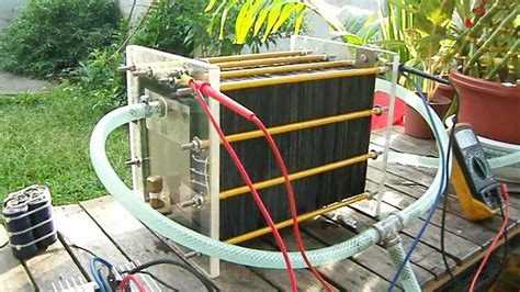 101 plates cell hho generator by limuel gemongala of digos city