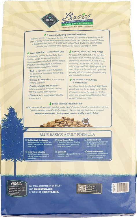 blue buffalo basics limited ingredient grain  formula