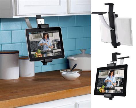 support cuisine tablette libérez le comptoir de cuisine en suivant une recette sur